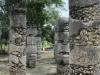 mexico-maya-chichen-itza-colonnes